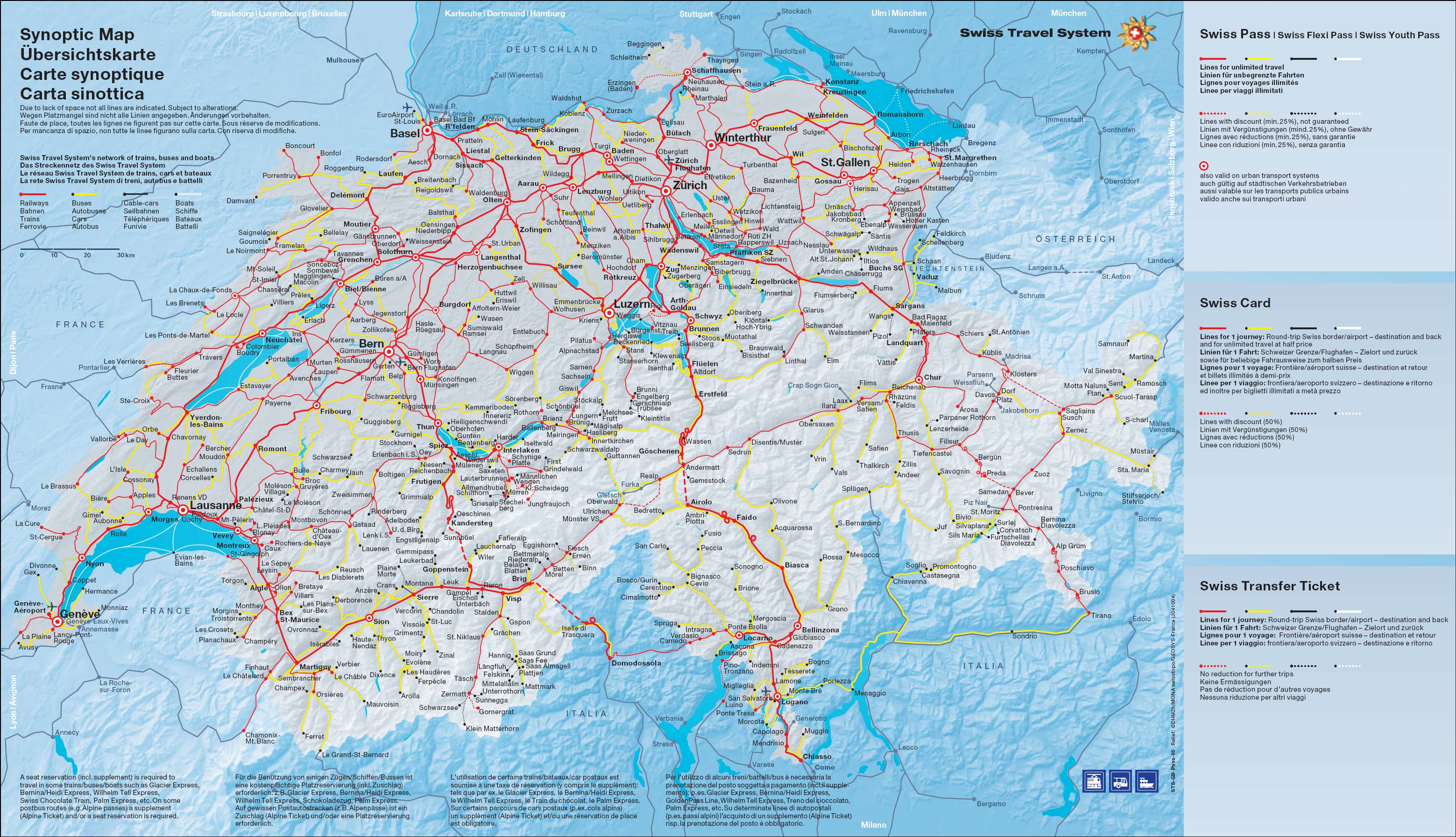 Sunny Photo Studiomain – Swiss Travel System Map